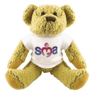 "8"" Korky Bear with White T Shirt"